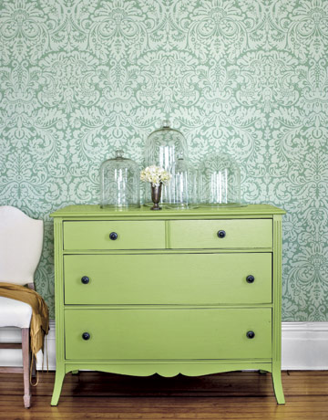 Awesome Green Dresser