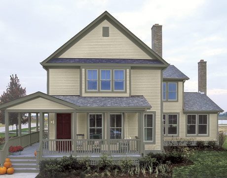 House paint color combinations choosing exterior paint - Paint colors for exterior homes pict ...