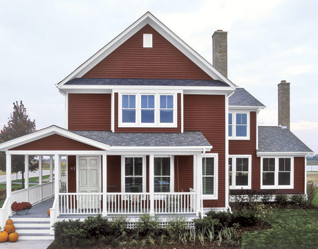 House paint color combinations choosing exterior paint colors - Exterior paint colours for wood pict ...