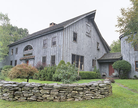 Antiques transforming a barn into a home with antiques for Renovating a barn into a house