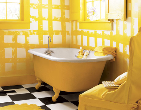 Claw foot bathtubs - Painted clawfoot tub exterior pict ...