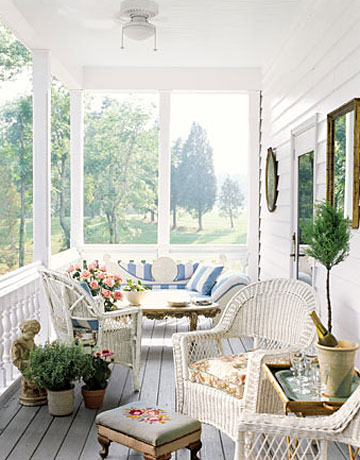 Living Room Mirrors On The Wall Reflect The Trees In The Yard While