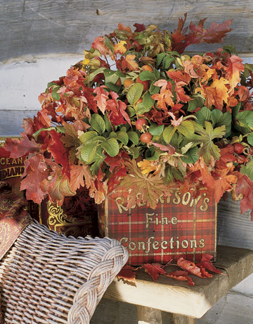 Autumn Decorating Ideas - Thanksgiving Porch Decorating Ideas for Fall