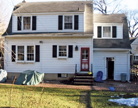 Dutch colonial home remodel before and after home for Before after exterior 1930