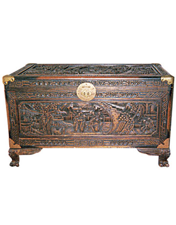 Hand-Carved Chest: What Is It? What Is It Worth?
