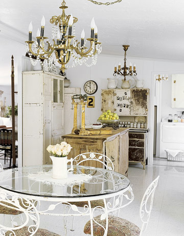 Doublewide Glass Kitchen Table