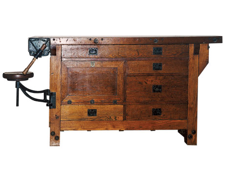 Wood Work Antique Oak Workbench Pdf Plans