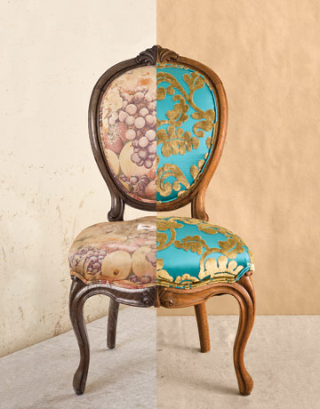 How To Reupholster Dining Room Chairs Do It Yourself Furniture Reupholstery