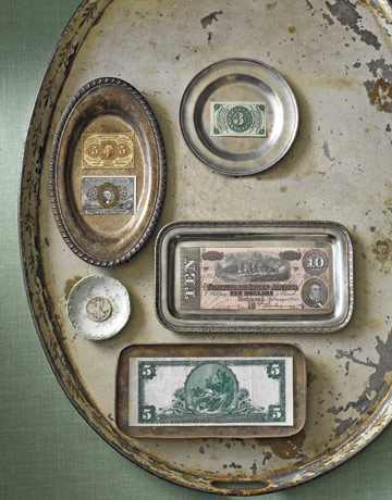 Old money for Antique items worth a lot of money