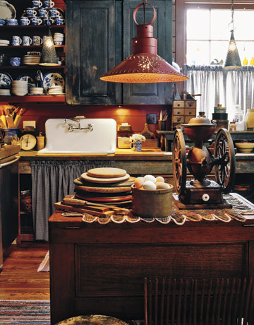 Decorating With Antiques decorating with american country antiques - house tour