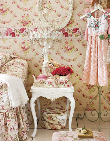 floral home accessories - floral home decor
