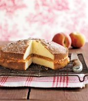 Countryliving Food Drinks Recipes A Basic Vanilla Cake