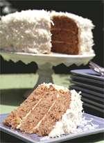Coconut Hummingbird Cake
