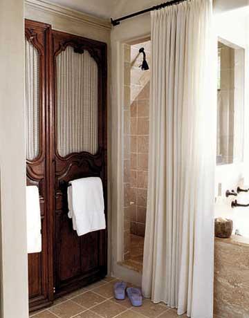 Homespun Shower Curtain