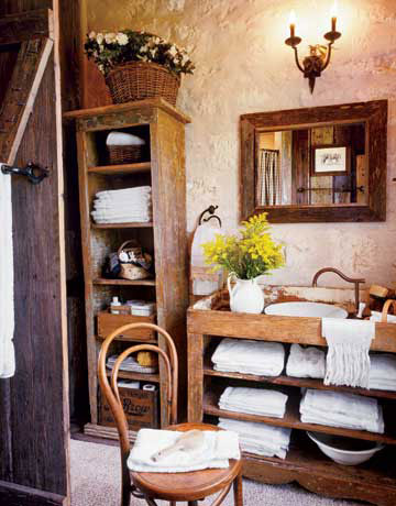 Country Style Bathrooms Country Bathroom Decor - Country bathroom decor for small bathroom ideas