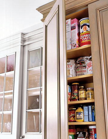 Wonderful Add A Built In Pantry