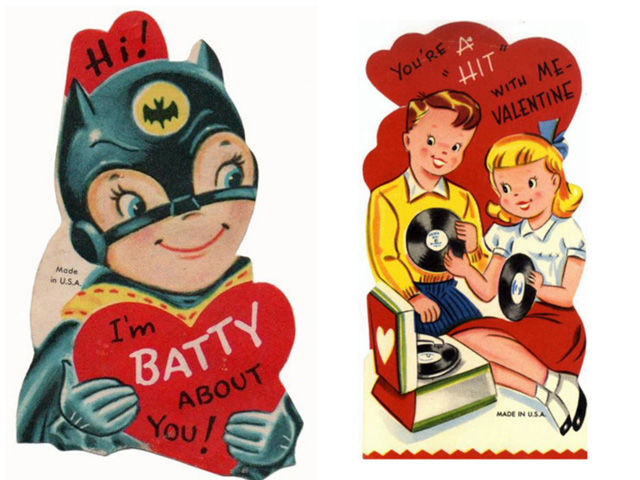 16 punny vintage valentines day cards that will bring the giggles - Vintage Valentines Day