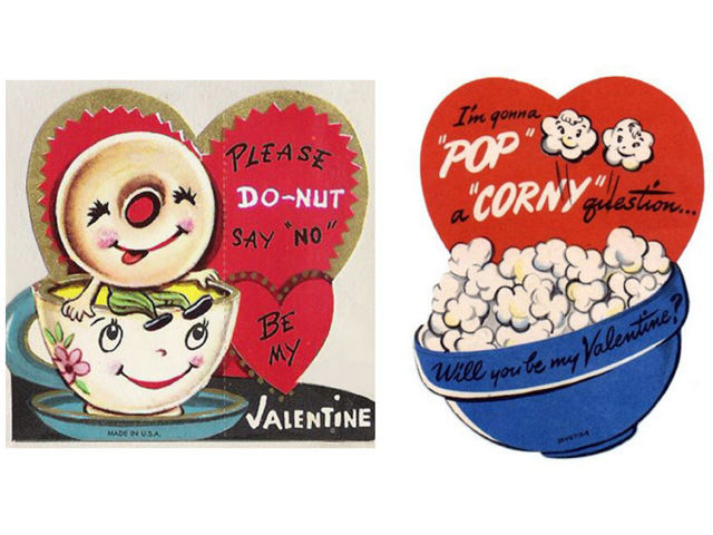 16 Vintage Valentines Day Cards Funny Antique Valentines – Images of Vintage Valentine Cards
