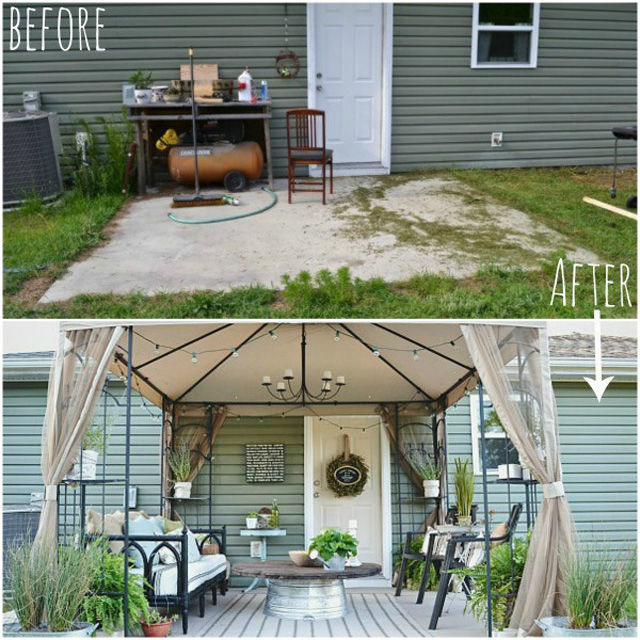 courtesy of - Backyard Before And After