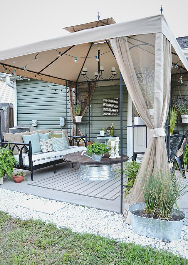 Before U0026 After: A Thrifted Budget Friendly Patio Makeover