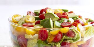 Garden-Fresh Chopped Salad with Herb-Ranch Dressing