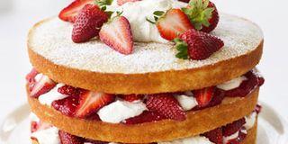 Chocolate Cream Cheese Strawberry Cake