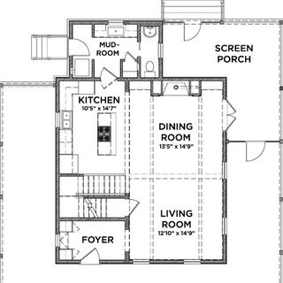 Floor Plan Eco Friendly House House Design Plans