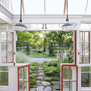 A Spacious Farm Transforms Into A Relaxing Getaway For Guests. Light Green Laundry  Room Part 64