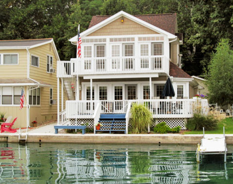 Real estate listings lake houses for How much does a lake house cost