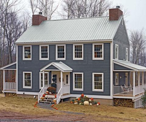 Environmentally sound home modular homes for Modular farmhouse