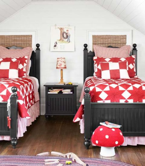shades of red - Bedroom Color Red