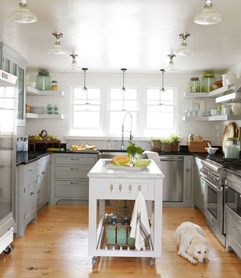 Fixer Upper Country Kitchen: Ojai California Ranch House