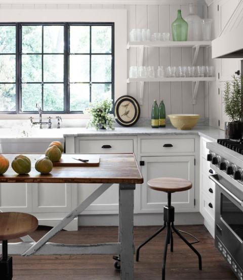 Country White Kitchen Ideas cozy kitchens - how to make your kitchen cozy