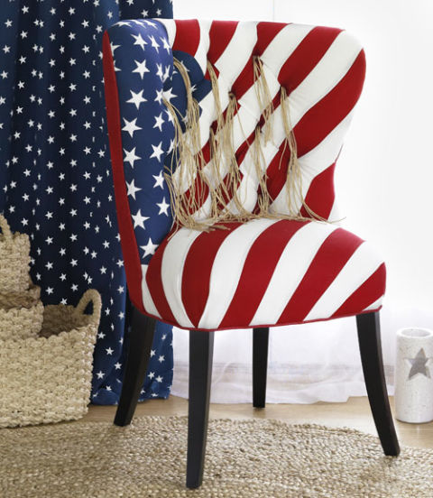 30 Patriotic Home Decoration Ideas In White Blue And Red: Red White And Blue Decor