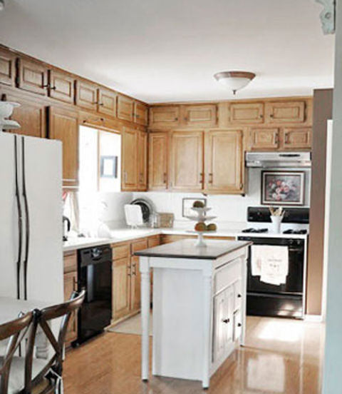 Mobile Home Kitchen Cabinets: Before And After Home Makeovers