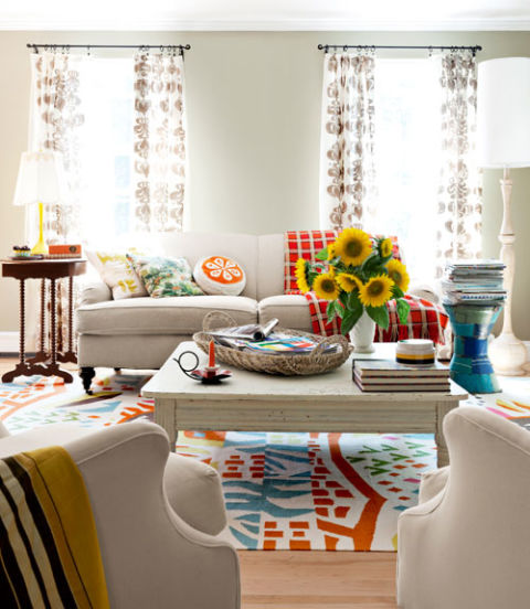 Erin Flett Colorful Maine Home Colorful And Cheap