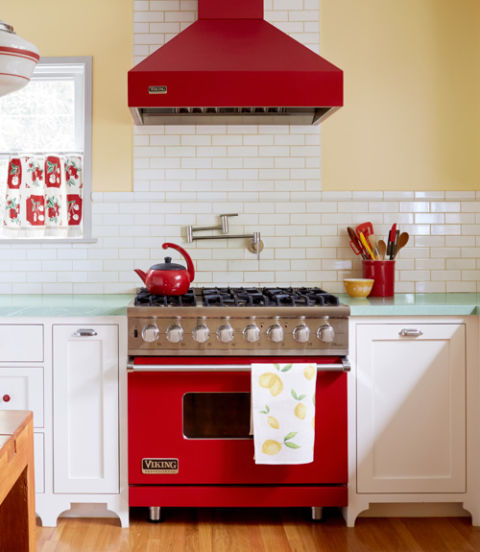 Retro kitchen kitchen decor ideas for Cal s country kitchen