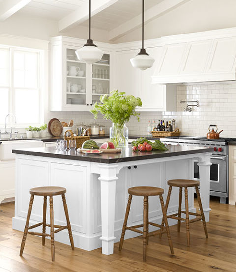 Kim and drew schneider california home southern for Cal s country kitchen