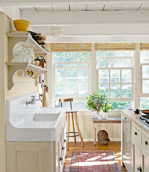 Traditional farmhouse decorating ideas farmhouse design for Country farm kitchen ideas