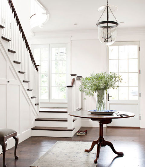 Foyer Rug Juice : Anne favret and bill gallagher house