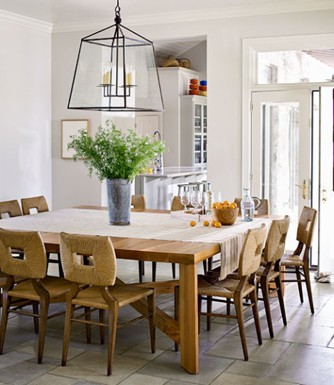 Judy wilcott and laurence miller texas ranch texas ranch for Country kitchen dining room ideas