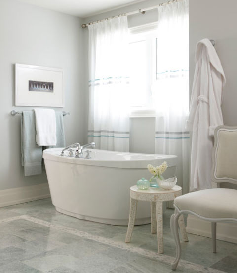 Bathroom Color Inspiration Gallery: How To Pick A Paint Color