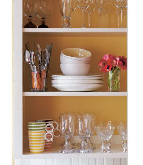 Hawthorne Yellow Kitchen: Cozy Color Schemes