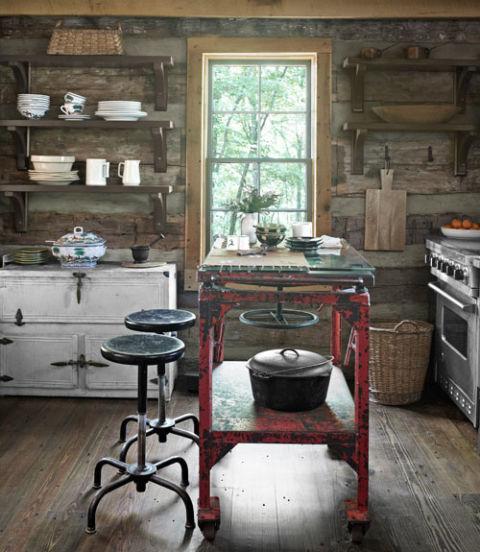 Log Cabin Kitchen Decor: Log Cabin Home Decor