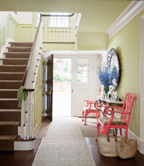 Painting Entryway the new neutrals: paint color trends for 2014