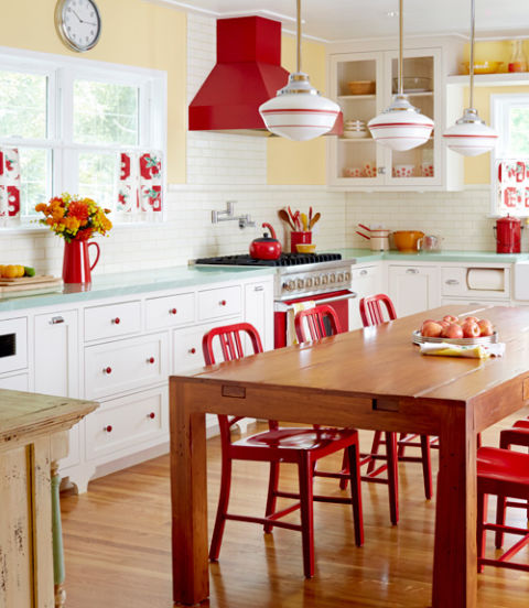 retro kitchen - kitchen decor ideas