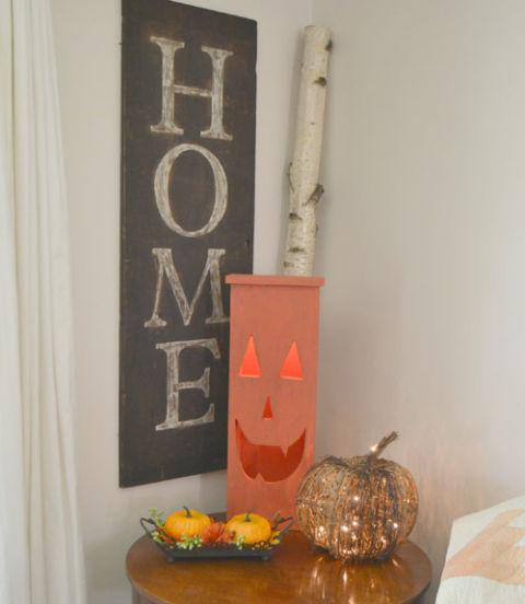 Diy Home Decor Fall Home Tour: Lindsay Eidahl Fall House Tour