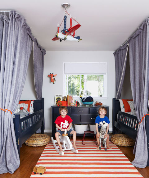 Fun Kids Rooms: Bedroom Design And Decorating