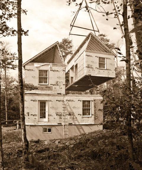 Environmentally sound home modular homes for Modular farmhouse texas