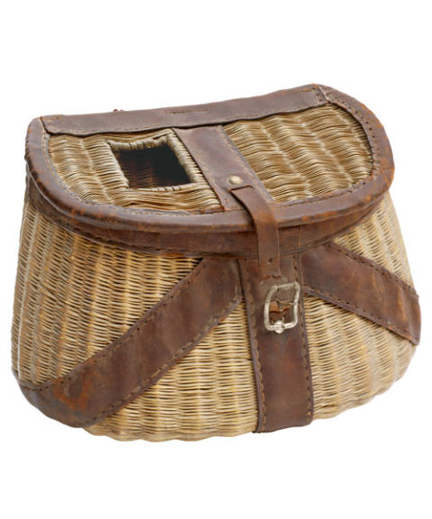 Vintage fishing gear whozwho live for Live fish basket